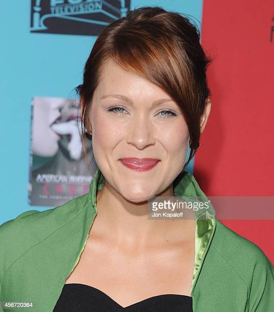 Actress Amber Nash arrives at the Los Angeles Premiere American Horror Story Freak Show at TCL Chinese Theatre IMAX on October 5 2014 in Hollywood...