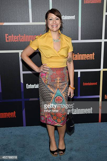 Actress Amber Nash attends Entertainment Weekly's annual ComicCon celebration at Float at Hard Rock Hotel San Diego on July 26 2014 in San Diego...