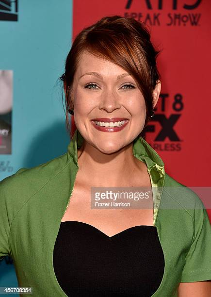 Actress Amber Nash attends FX's 'American Horror Story Freak Show' premiere screening at TCL Chinese Theatre on October 5 2014 in Hollywood California