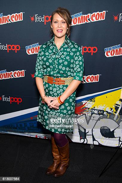 Actress Amber Nash attends the 'Archer' press room during 2016 New York Comic Con on October 6 2016 in New York City