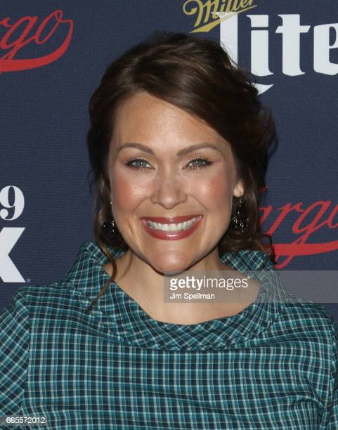 Actress Amber Nash attends the FX Network 2017 AllStar Upfront at SVA Theater on April 6 2017 in New York City