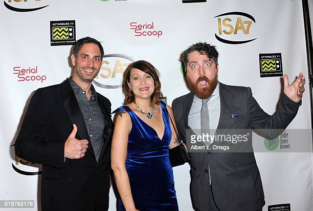 Actress Amber Nash with guests arrive at the 7th Annual Indie Series Awards held at El Portal Theatre on April 6 2016 in North Hollywood California