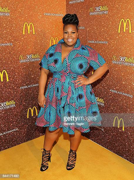 Actress Amber Riley attends the 13th Annual McDonald's 365Black Awards on July 1 2016 in New Orleans Louisiana