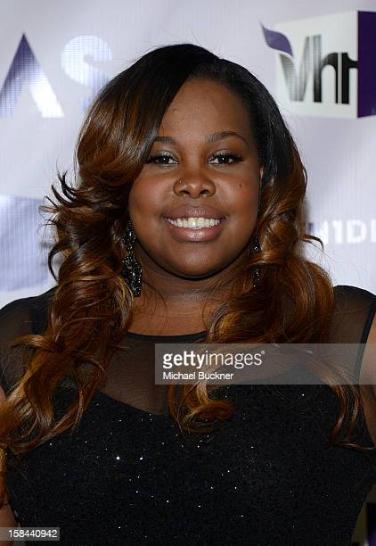 Actress Amber Riley attends VH1 Divas 2012 at The Shrine Auditorium on December 16 2012 in Los Angeles California