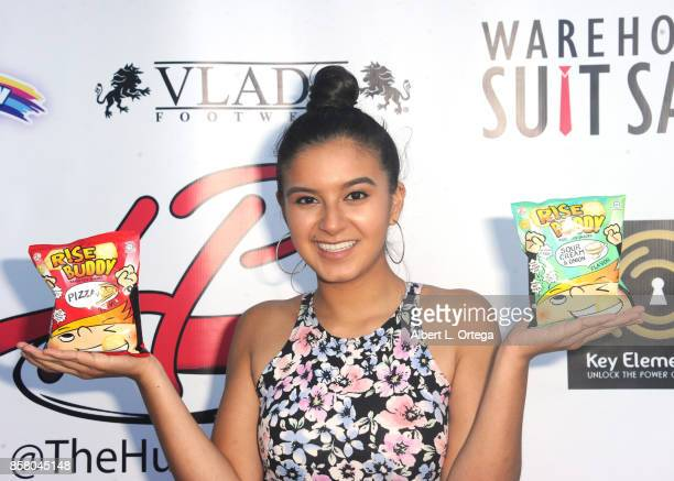Actress Amber Romero attends Hunter Payton's 13th Birthday Bash held at a private location on October 4 2017 in Simi Valley California