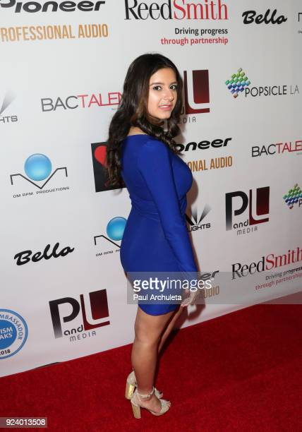 Actress Amber Romero attends the 'Gifting Your Spectrum' gala benefiting Autism Speaks on February 24 2018 in Hollywood California