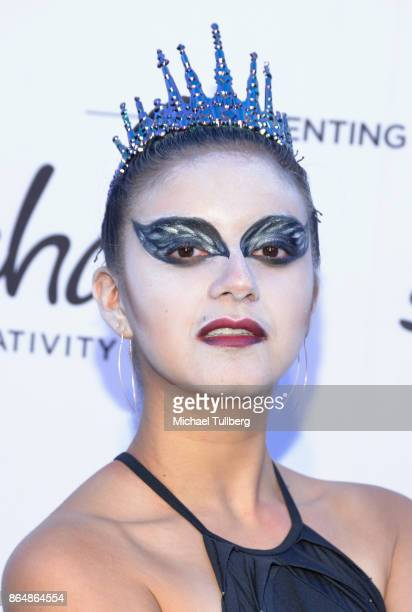 Actress Amber Romero attends the Starlight Children's Foundation's Dream Halloween at The MacArthur on October 21 2017 in Los Angeles California