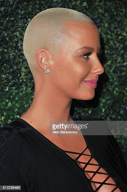 Actress Amber Rose attends the All Def Movie Awards at Lure Nightclub on February 24 2016 in Los Angeles California