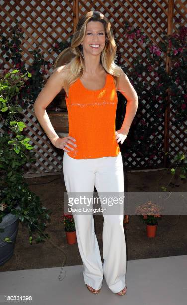 Actress Amber Smith attends 'Celebrity Rehab Reunion' at the Pasadena Recovery Center on September 11 2013 in Pasadena California