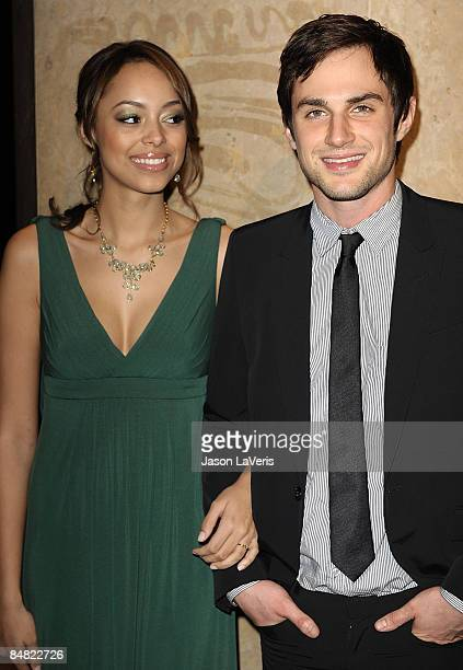 Actress Amber Stevens and actor Andrew J West attend the 59th annual ACE Eddie Awards at the Beverly Hilton Hotel on February 15 2009 in Beverly...
