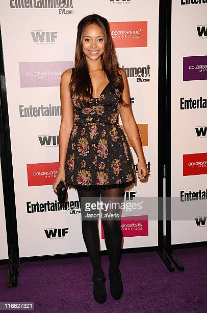 Actress Amber Stevens attends Entertainment Weekly And Women In Film's 7th annual preEmmy party at Restaurant at The Sunset Marquis Hotel on...