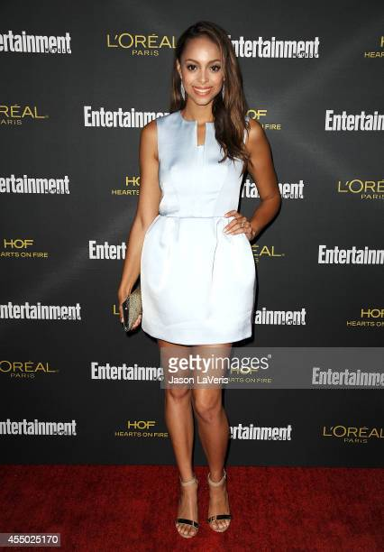 Actress Amber Stevens attends the 2014 Entertainment Weekly preEmmy party at Fig Olive Melrose Place on August 23 2014 in West Hollywood California