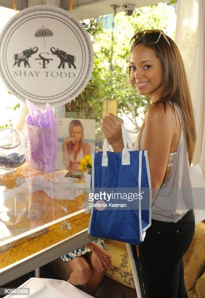 Actress Amber Stevens attends The Suite Life Skybar Emmy Suites at Skybar on September 18 2009 in West Hollywood California