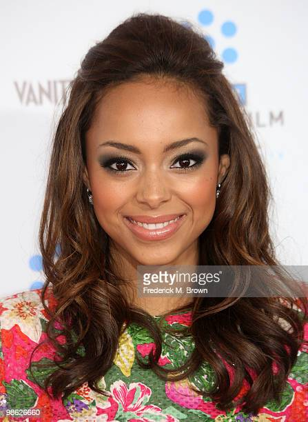 Actress Amber Stevens attends the TCM Classic Film Festival screening of a A Star Is Born at Grauman's Chinese Theater on April 22 2010 in Hollywood...