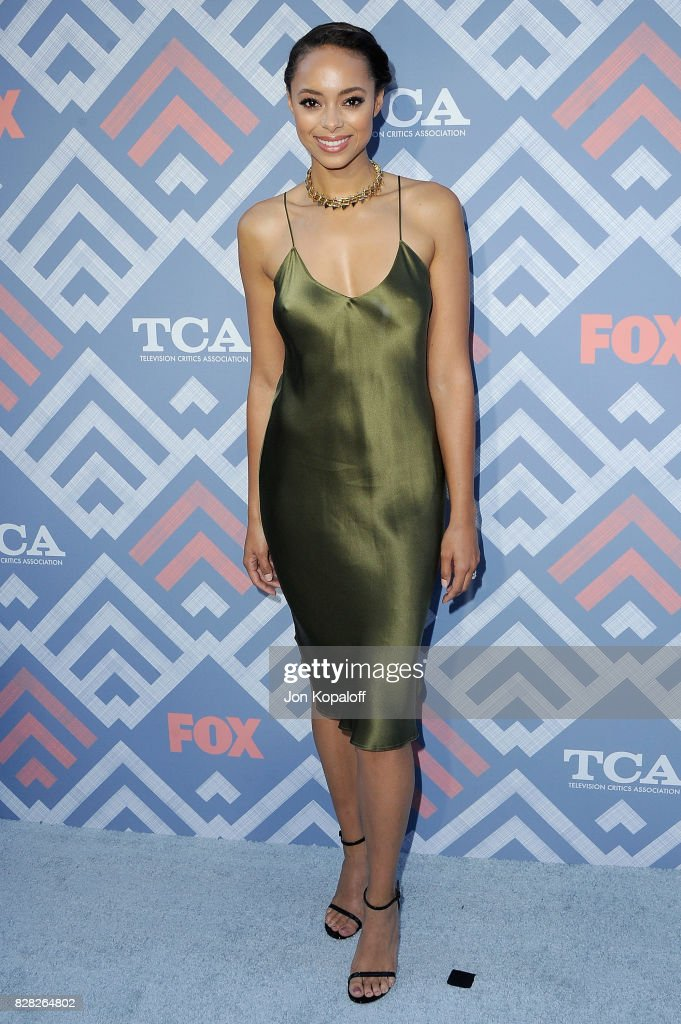 Actress Amber Stevens West arrives at the 2017 Fox Summer TCA Tour at the Soho House on August 8, 2017 in West Hollywood, California.