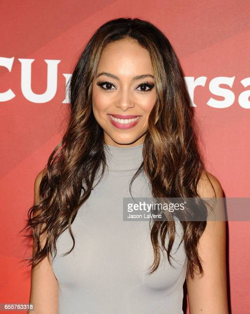 Actress Amber Stevens West attends the 2017 NBCUniversal summer press day The Beverly Hilton Hotel on March 20 2017 in Beverly Hills California
