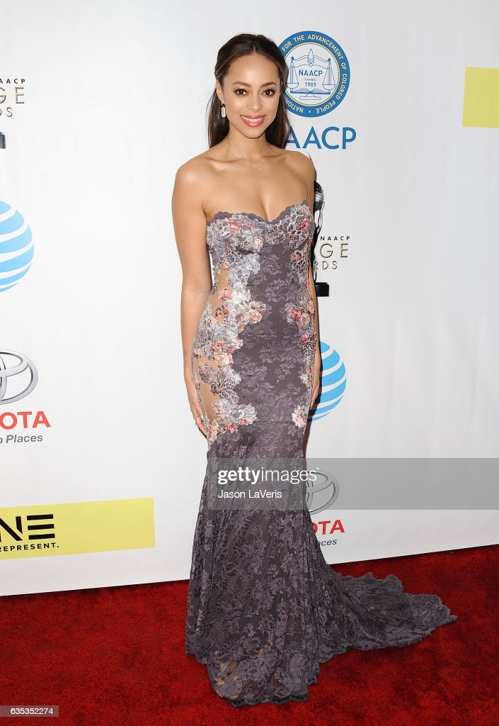 Actress Amber Stevens West attends the 48th NAACP Image Awards at Pasadena Civic Auditorium on February 11, 2017 in Pasadena, California.
