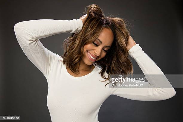 Actress Amber Stevens West poses for a portrait during the NBCUniversal Press Day at The Langham Huntington Pasadena on January 13 2016 in Pasadena...