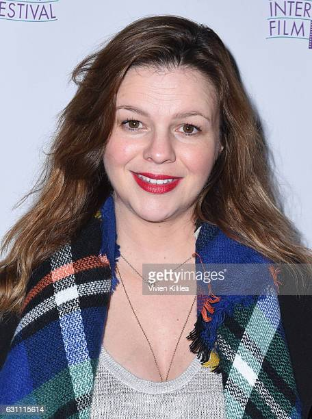 Actress Amber Tamblyn attends a screening of Paint It BlackÓ at the 28th Annual Palm Springs International Film Festival on January 6 2017 in Palm...