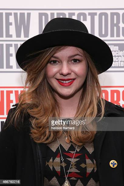 Actress Amber Tamblyn attends the 2015 New Directors New Films Opening Night Gala with a presentation of 'The Diary of a Teenage Girl' at The Museum...