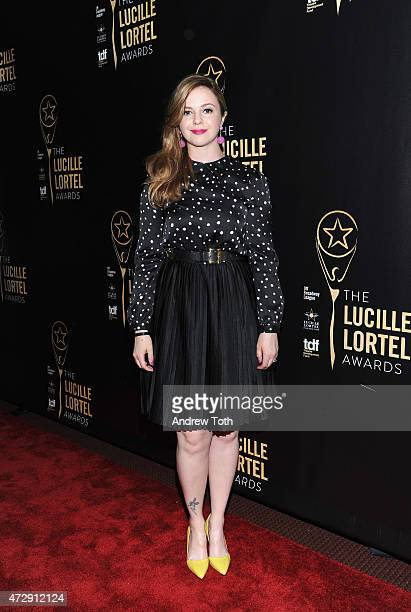 Actress Amber Tamblyn attends the 30th Annual Lucille Lortel Awards at NYU Skirball Center on May 10 2015 in New York City