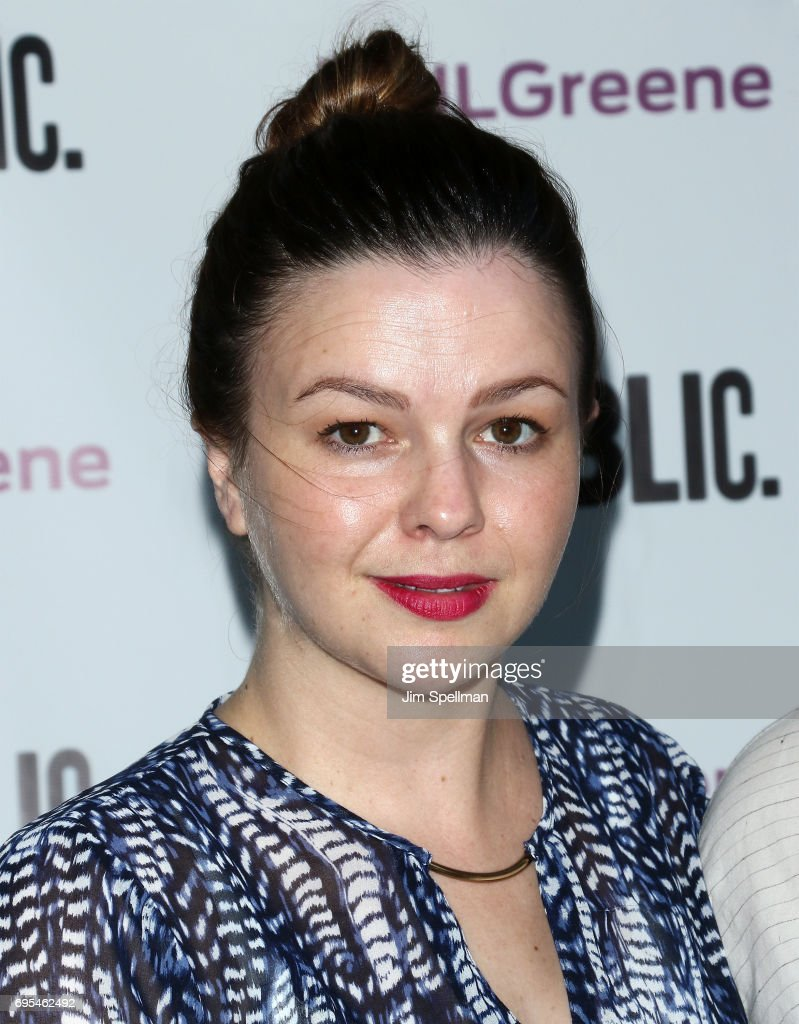 Actress Amber Tamblyn attends the 'Julius Caesar' opening night at Delacorte Theater on June 12, 2017 in New York City.