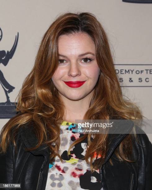 "Actress Amber Tamblyn attends the Television Academy's presentation of 10 Years After ""The Prime Time Closet - A History Of Gays And Lesbians On TV""..."