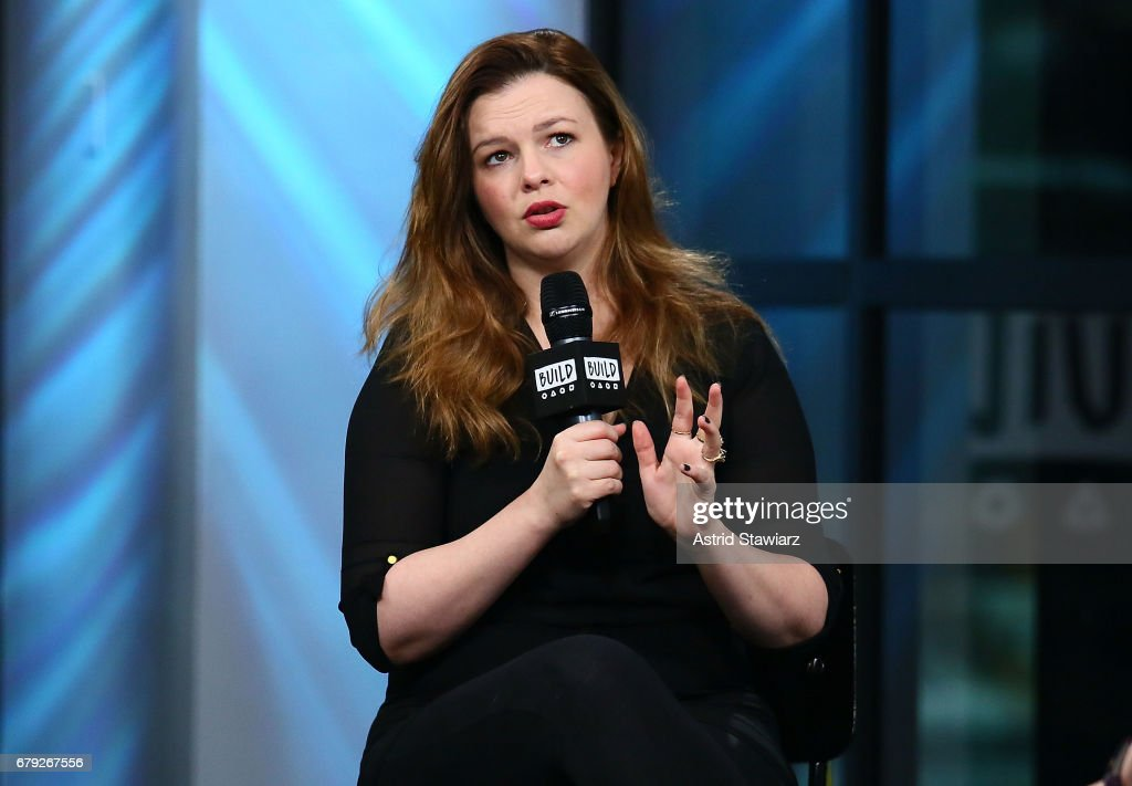 """Build Presents Amber Tamblyn Discussing Her Off-Broadway Debut In """"Can You Forgive Her?"""" : News Photo"""