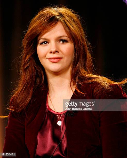 Actress Amber Tamblyn of the television show 'The Unusuals' attend the Disney/ABC Television Group portion of the 2009 Winter Television Critics...
