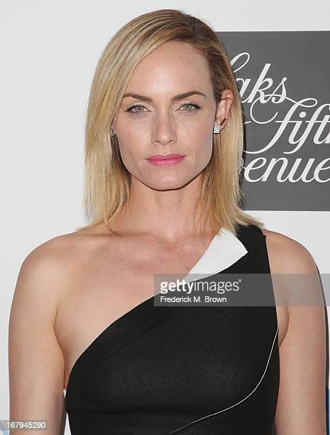 Actress Amber Valleta attends the EIF Women's Cancer Research Fund's 16th Annual 'An Unforgettable Evening' presented by Saks Fifth Avenue at the...