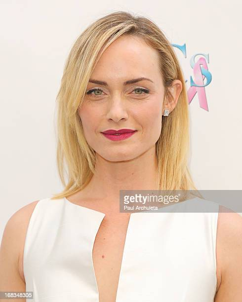 Actress Amber Valletta attends ABC's Mother's Day luncheon at the Four Seasons Hotel Los Angeles at Beverly Hills on May 8 2013 in Beverly Hills...
