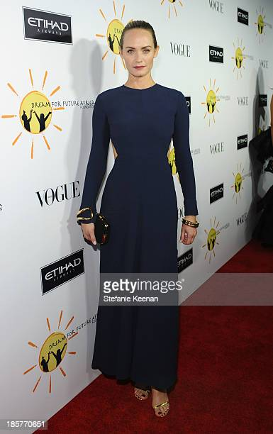 Actress Amber Valletta attends Dream for Future Africa Foundation Inaugural Gala honoring Franca Sozzani of VOGUE Italia at Spago on October 24 2013...