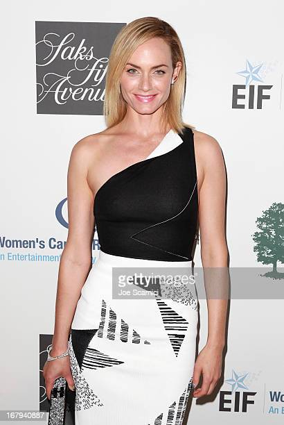 "Actress Amber Valletta attends EIF Women's Cancer Research Fund's 16th Annual ""An Unforgettable Evening"" presented by Saks Fifth Avenue at the..."