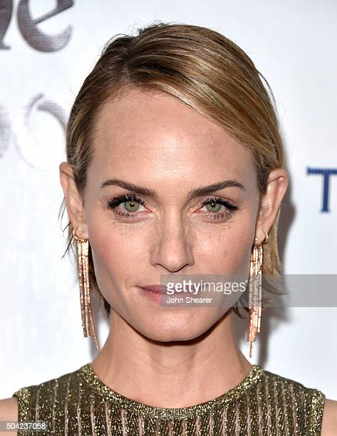 Actress Amber Valletta attends The Art of Elysium 2016 HEAVEN Gala presented by Vivienne Westwood Andreas Kronthaler at 3LABS on January 9 2016 in...