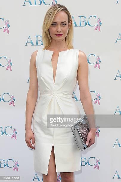 Actress Amber Valletta attends The Associates For Breast and Prostate Cancer Studies' Annual Mother's Day Luncheon at the Four Seasons Hotel Los...