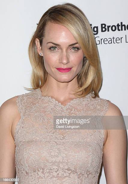 Actress Amber Valletta attends the Big Brothers Big Sisters of Greater Los Angeles annual Accessories for Success spring luncheon fashion show at the...