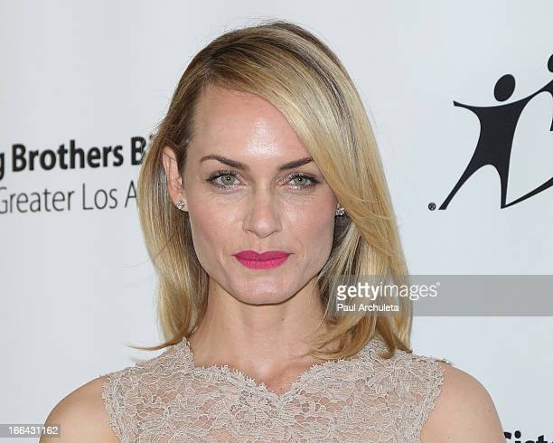 Actress Amber Valletta attends the Guild Of Big Brothers Big Sisters of Los Angeles annual 'Accessories For Success' spring luncheon and fashion show...