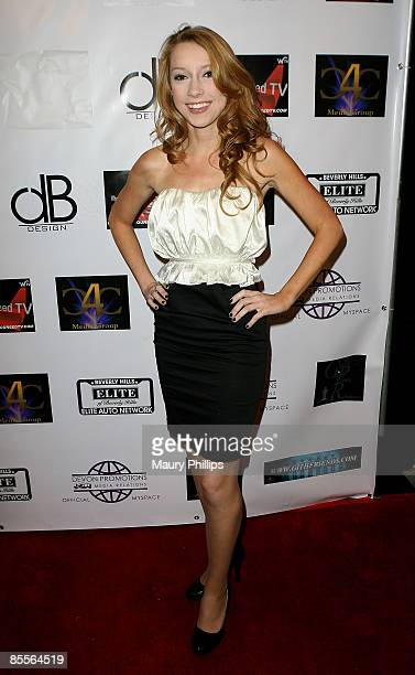 Actress Amber Watson arrives at Eric Zuley aka 'EZ' Birthday Part at ECCO UltraLounge on March 22 2009 in Hollywood California