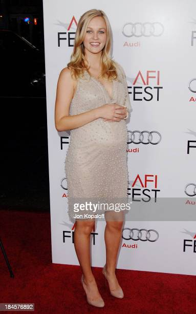 Actress Ambyr Childers arrives at AFI Fest 2009 'Bad Lieutenant Port Of Call New Orleans' Los Angeles Premiere at Grauman's Chinese Theatre on...