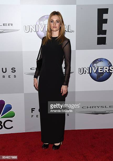 Actress Ambyr Childers arrives at NBCUniversal's 73rd Annual Golden Globes After Party at The Beverly Hilton Hotel on January 10 2016 in Beverly...