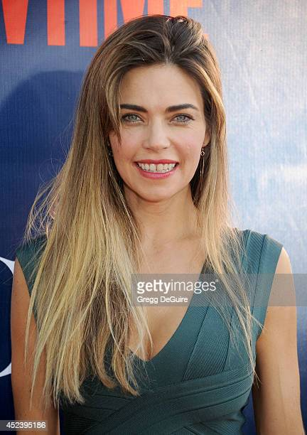 Actress Amelia Heinle arrives at the 2014 Television Critics Association Summer Press Tour CBS CW And Showtime Party at Pacific Design Center on July...