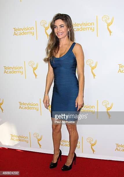 Actress Amelia Heinle attends the Daytime Emmy Nominee Reception at The London West Hollywood on June 19 2014 in West Hollywood California