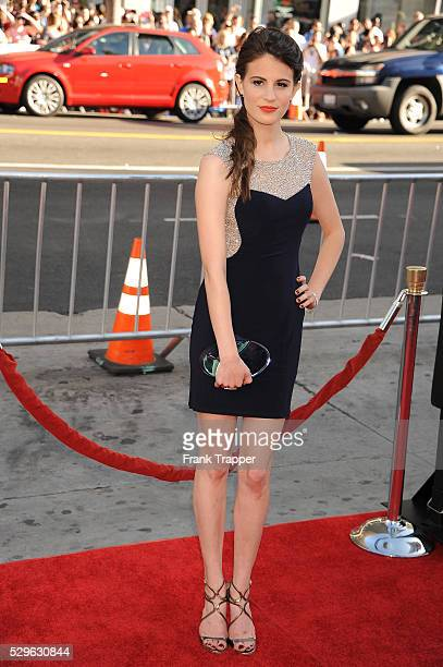 Actress Amelia Rose Blaire arrives at the premiere of HBO's 'True Blood' season 7 and final season held at TCL Chinese Theatre in Hollywood