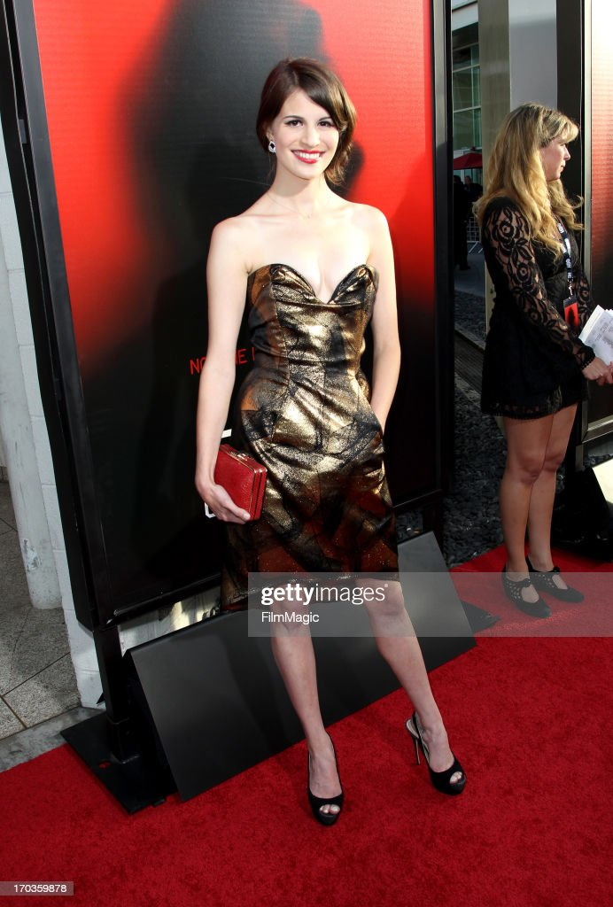 Actress Amelia Rose Blaire attends HBO's 'True Blood' season 6 premiere at ArcLight Cinemas Cinerama Dome on June 11, 2013 in Hollywood, California.