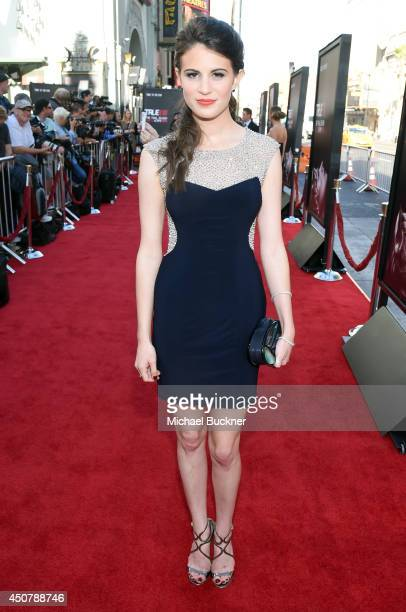 "Actress Amelia Rose Blaire attends Premiere Of HBO's ""True Blood"" Season 7 And Final Season at TCL Chinese Theatre on June 17, 2014 in Hollywood,..."