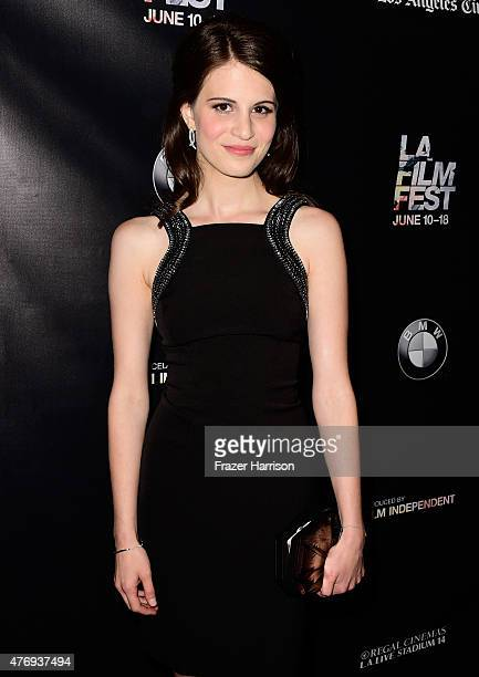 Actress Amelia Rose Blaire attends the 'Caught' screening during the 2015 Los Angeles Film Festival at Regal Cinemas LA Live on June 12 2015 in Los...