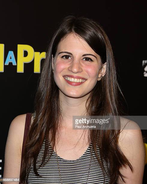Actress Amelia Rose Blaire attends the 'Dial A Prayer' Los Angeles premiere at the Landmark Theater on April 7 2015 in Los Angeles California