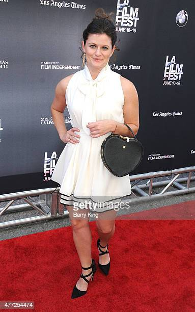 Actress Amelia Rose Blaire attends the premiere Of MTV and Dimension TV's 'Scream' at the 2015 Los Angeles Film Festival at Regal Cinemas LA Live on...