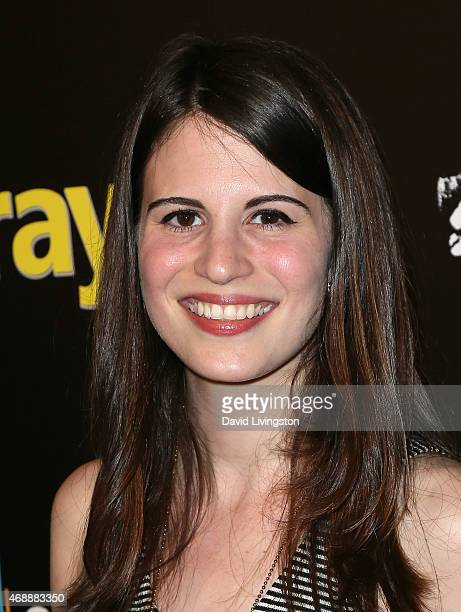 Actress Amelia Rose Blaire attends the premiere of Vertical Entertainment's 'Dial a Prayer' at the Landmark Theater on April 7 2015 in Los Angeles...