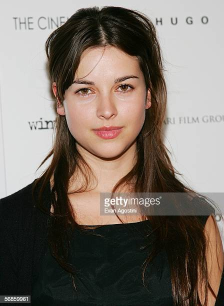 Actress Amelia Warner attends the Cinema Society/Hugo Boss screening of Winter Passing at the Tribeca Grand February 15 2006 in New York City